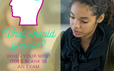 Why does my mind go blank in an exam?